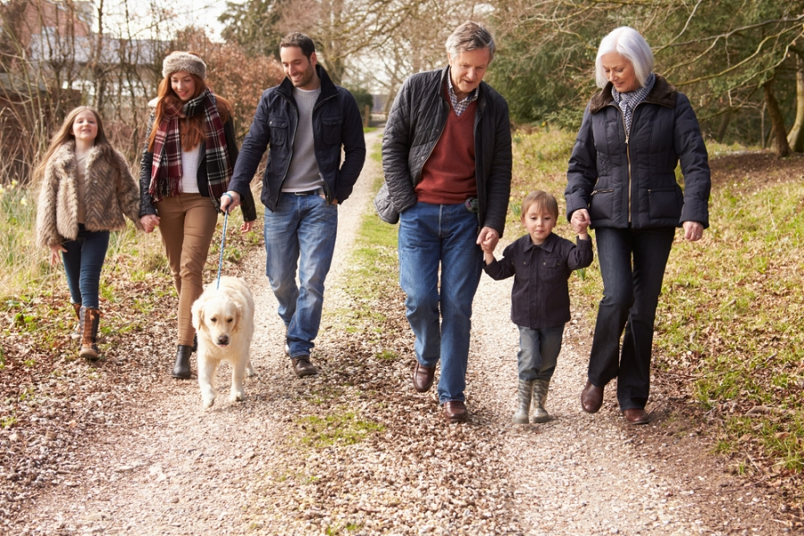 4 Reasons Walking is Great for the Whole Family!