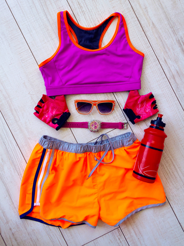Summer walking outfit