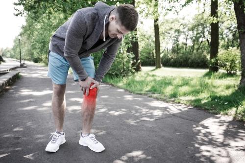 Knee injury large
