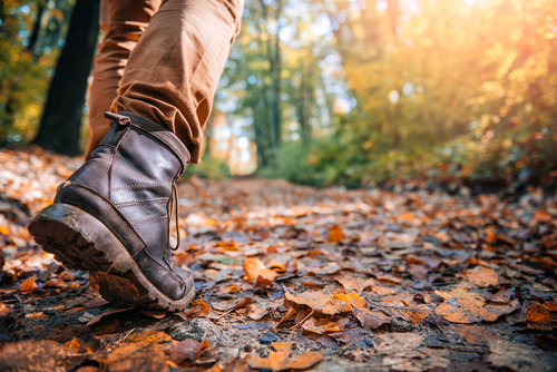 Hiking boots for cold weather