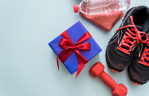 Fitness gift as a reward