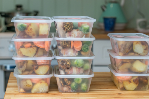 healthy lunches prepared ahead of time
