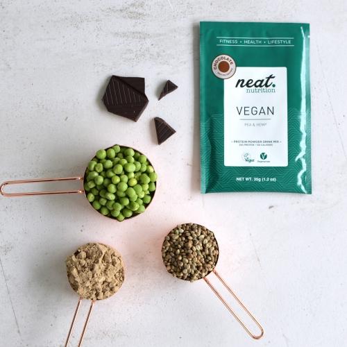 Neat nutrition vegan protein + ingredients