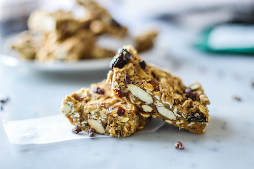 Protein packed granola bars