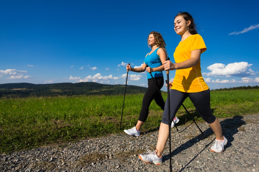 Beginner's guide to Nordic walking – why is walking with poles so popular?