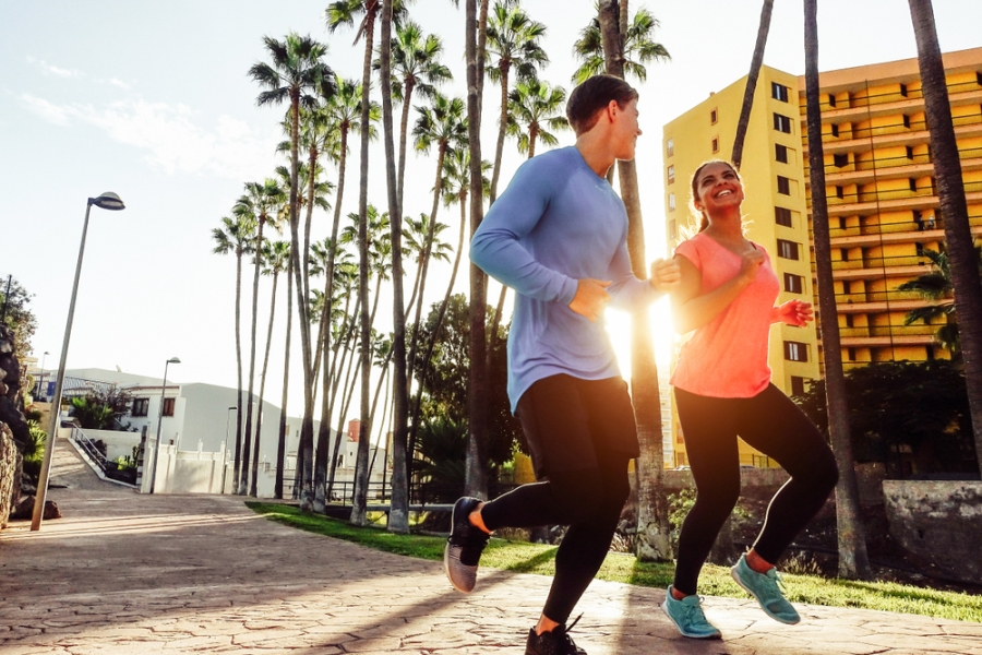 Are long walks or short jogs better for your fitness?