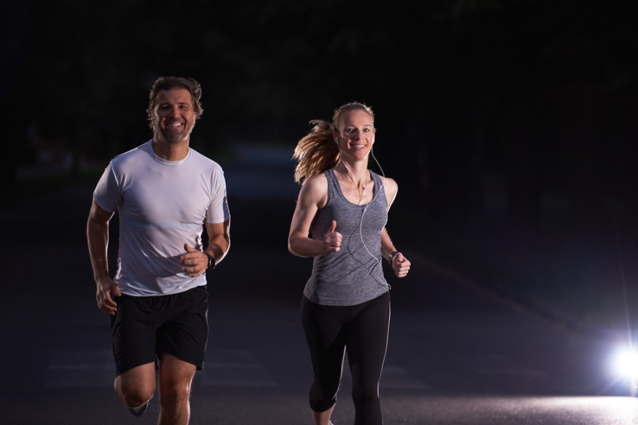 Night walking and safety tips to get more steps afterdark