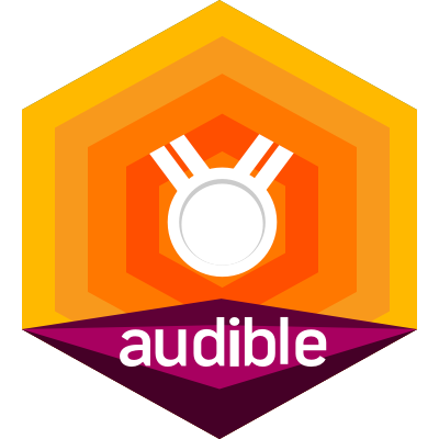 Audible 6 for 6 Top 1000 finisher badge